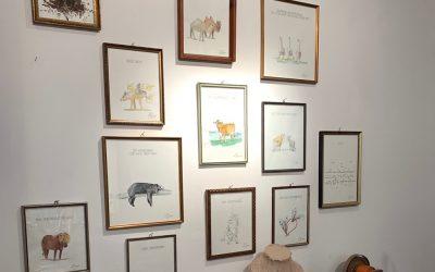 Ausstellung bei Almudena Simon Sanchez